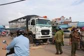 Thiếu niên bị xe tải cán chết