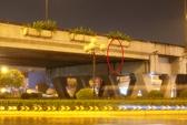 Xác người đàn ông treo lơ lửng trên cầu vượt An Sương