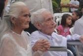 Chú rể 103 tuổi rước nàng 99 tuổi về dinh