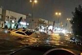 Gần sa mạc, Ả Rập Saudi vẫn bị lũ nhấn chìm