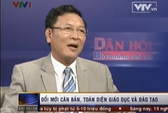 Bộ trưởng Phạm Vũ Luận nói về đề toán phi giáo dục