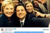 """Ảnh """"tự sướng"""" gia đình Clinton không """"hot"""" bằng Ellen"""