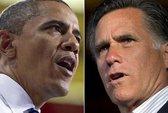 Chạm trán Obama - Romney