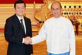 Việt Nam và Myanmar nhất trí quan điểm về biển Đông