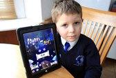 Trẻ em cũng nghiện iPad