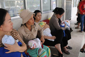 Vẫn tiêm vắc-xin viêm gan B cho trẻ