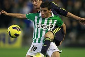 Dàn sao Real tủi hổ rời sân Betis