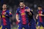 Barca dội mưa bàn thắng, vượt qua Cordoba