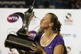 Kvitova đăng quang ở Dubai