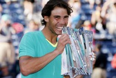 Vượt qua Del Potro, Nadal lên ngôi Indian Wells 2013