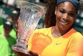 Serena đăng quang ở WTA Charleston