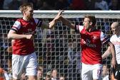 Thắng Fulham 1-0, Arsenal trở lại tốp 3