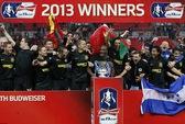 Wigan nhấn chìm Man City phút bù giờ, giành F.A Cup