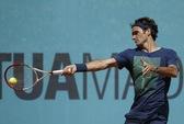Federer khởi đầu tưng bừng ở Madrid Open 2013