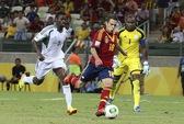 """""""Đại bàng xanh"""" Nigeria gãy cánh, Uruguay vào bán kết với Brazil"""