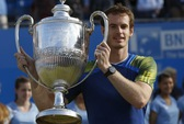 Murray lập hat-trick vô địch Queen's Club