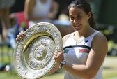 """""""Dị nhân"""" Bartoli lần đầu vô địch Wimbledon"""