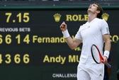 Murray ngược dòng vào bán kết, Djokovic hẹn gặp Del Potro