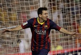 Messi lập hat-trick, Barcelona đánh bại chủ nhà Valencia