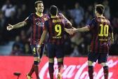 Fabregas tỏa sáng, Barca đại thắng trước Celta Vigo