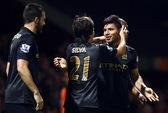 Aguero tỏa sáng, Man City đánh bại West Ham tại Upton Park