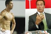 """""""Người hùng cơ bắp"""" Arnold ngưỡng mộ thể hình Ronaldo"""
