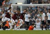 West Ham đánh bại Tottenham, Arsenal trở lại ngôi đầu