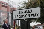 Có một con đường mang tên Sir Alex Ferguson