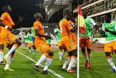 Nigeria và Bờ Biển Ngà chính thức giành vé