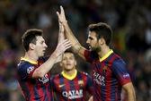 Messi ghi bàn trở lại, Barca sớm giành vé cùng Atletico