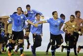 Uruguay giành suất vé thứ 32 đến Brazil