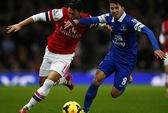 Bị Everton cầm chân, Arsenal cũng hài lòng