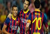M.U buông Fabregas, Barca theo Luiz tới cùng
