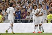 Raul trở lại khoác áo Real và ghi bàn