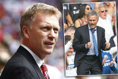 HLV Moyes tố ông Mourinho quấy nhiễu nội bộ M.U