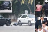 Beckham gặp tai nạn giao thông ở Mỹ