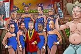 Xem HLV Ferguson bán khỏa thân, Mourinho khoe áo tắm cùng Benitez