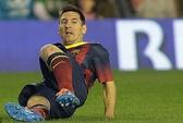 Nghỉ thi đấu đến năm 2014, Messi khó lòng cạnh tranh QBV