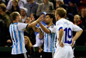 Argentina - Bosnia 2-0: Vắng Messi, Aguero tỏa sáng
