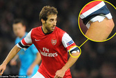 Tự ý cắt tay áo, Flamini coi thường truyền thống Arsenal