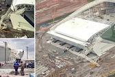 Sập dàn cẩu ở sân khai mạc World Cup 2014, 2 người chết