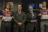 Sao Barca sẽ thường xuyên lật áo khi ghi bàn!