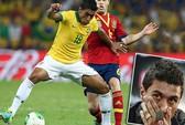 Paulinho bật khóc trong ngày chia tay Corinthians
