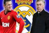Ancelotti và Rooney sắp là thầy trò ở Real Madrid