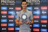 Ronaldo lần thứ 7 nhận danh hiệu VĐV số 1 Bồ Đào Nha