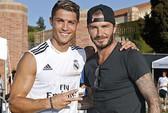 """Beckham """"đột nhập"""" trại tập huấn của Real ở Mỹ"""
