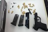 Thu 27 khẩu súng nhập trái phép