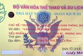 Yêu cầu xử lý vụ vé xem văn nghệ in phù hiệu Lục quân Mỹ