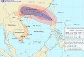 Bão giật cấp 13 đổ bộ vào Biển Đông
