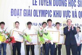Tuyên dương học sinh đoạt giải Olympic quốc tế